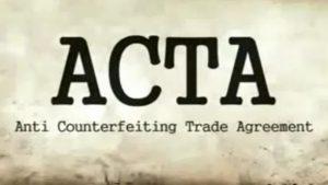 #ACTA para que te quero