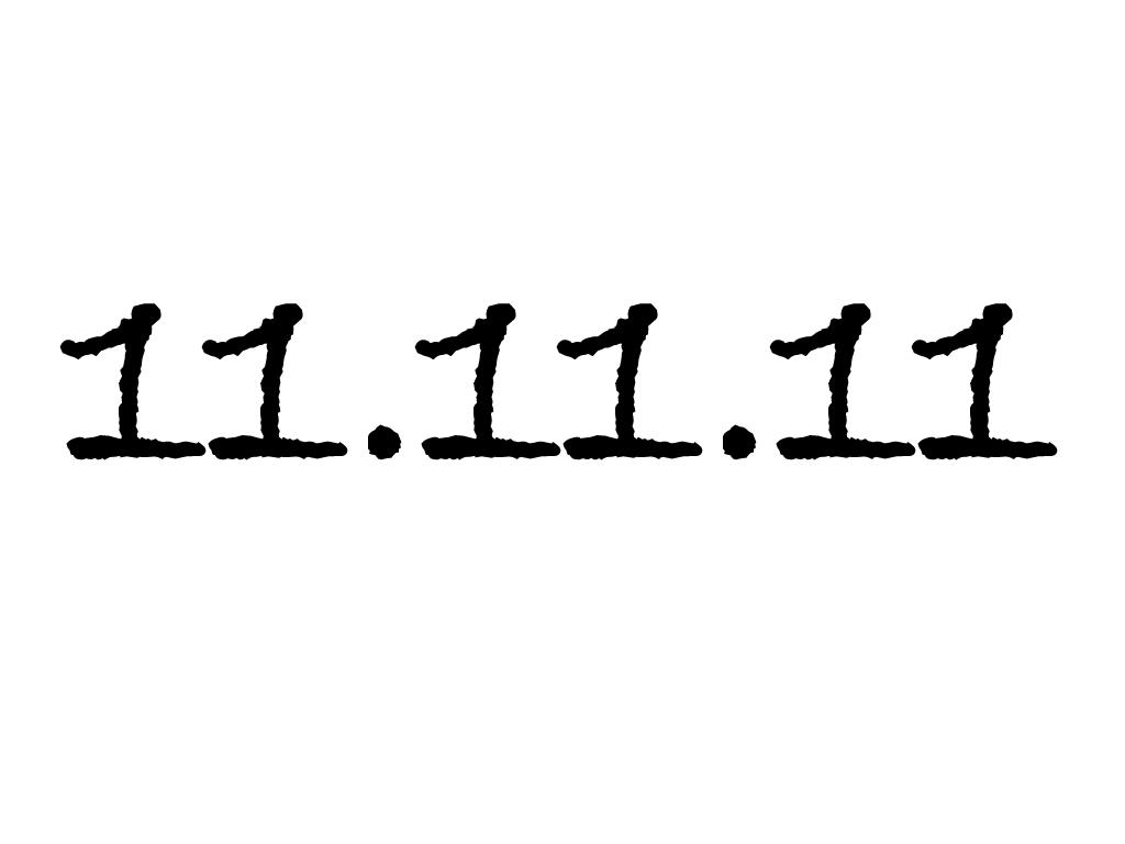 11.11.11 1