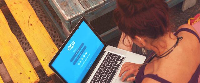 3 - efetue videochamadas com os clientes e colegas - 16 dicas que deve saber para trabalhar a partir de casa - GIlberto PereiraEfetue videochamadas com colegas e clientes