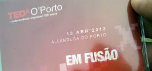 TEDxOporto: 1.Disrupção