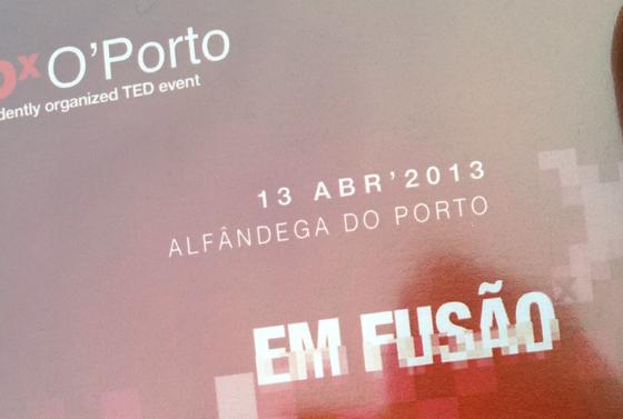 TEDxOporto: 1.Disrupção 2