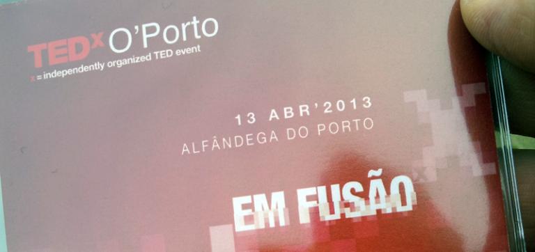TEDxOporto: 1.Disrupção 1