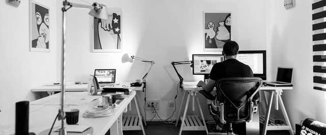 10 - você está a trabalhar - 16 dicas que deve saber para trabalhar a partir de casa - Gilberto Pereira