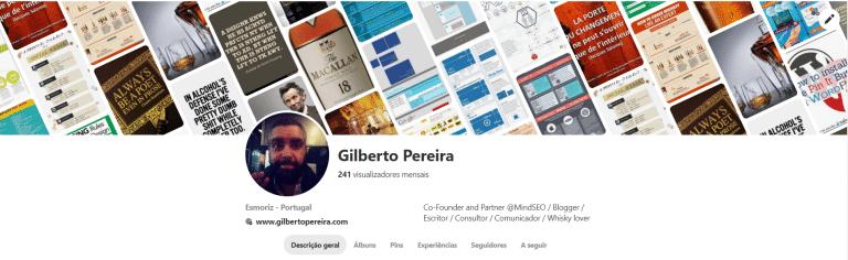 Pinterest - Giljspereira - GilbertoPereira.com
